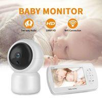 Bakey wifi ip كاميرا الأمن مصغرة ptz 1080P 3MP للرؤية الليلية السيارات مراقبة الفيديو الطفل مراقب المنزل الأمن اللاسلكي 1