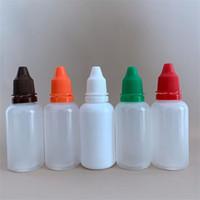 زجاجات مضخة رغوة البلاستيك رذاذ زجاجات قطارة 5 ملليلتر 10 ملليلتر 15 ملليلتر 20 ملليلتر 30ML ملون ختم جيد جميلة 0 3AK3 E2