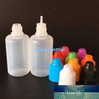 1500pcs / Lot Günstigste PE Nadel Flasche 30ml Plastiktropfflasche E Flüssigkeitsflasche 1OZ für 30 ml E-Saft-freies Verschiffen