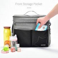 Zaino per pannolini per pantaloni per pannolino insulare Fashion Mummy Maternity Bag BAG GRANDE Capacità Bambino Borsa da viaggio Zaino da viaggio Nursing1
