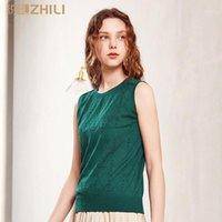 Zhili Womens Tank tops solto apto sem mangas casual verão túnica camisas vestim