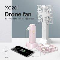 2020 Nuovo prodotto 3-in-1 portatile Fan + 2000mAh di potere Bank + 1080P HD Camera Mini Drone telecomando Aircraft Quadcopter PK H36