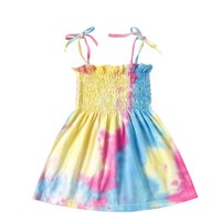 Condole belt Girl' s Dresses Kids Summer Baby Girl Desig...
