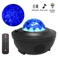 Water Wave LED Projector Light Blueteeth Music Player LED Ni...