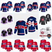 94 Corey Perry Montreal Canadiens 2021 Retro Retro Jersey Corey Perry Kotkaniemi Shea Weber Jonathan Drouin Jake Allen Tyler Toffoli Tatar