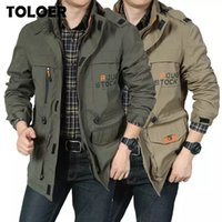 Autumn Winter Cotton Military Jacket Men Tactical Coat Soldi...