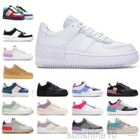 Force 1 Low Shadow Beige 1 one n.354 ombra cactus jack scarpe casual arancione scheletro mens womens mca nera react snaleekrs 1s formatori taglia 36-45 pe-2