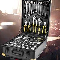 مجموعة أدوات الطاقة 186 قطعة مجموعة أدوات المنزل الأجهزة اليدوية مزيج الألومنيوم إصلاح معدات إصلاح الصيانة
