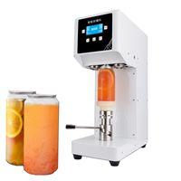 Máquina de vedação da garrafa da garrafa da garrafa da bebida do selante de 50mm para 330ml / 500 / 650ml chá / café do leite do animal de estimação pode selante 220V