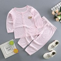 Sets For Girls Baby Summer Sleepwear Thin Type Boy Outfits P...