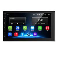 راديو السيارة 7 بوصة راديو السيارة أندرويد الوسائط المتعددة المشغل 2.5D GPS 2 الدين عالمي الملاحة الصوتية لفولكس واجن نيسان هيونداي سيارة دي في دي