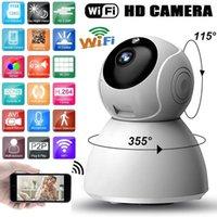 Cámaras 1080p 720p Cámara IP Seguridad WiFi CCTV inalámbrico Vigilancia IR Visión nocturna P2P Monitor de bebé PET