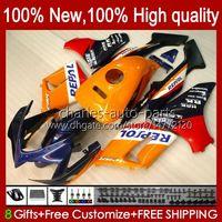 Cuerpo + tanque para Honda CBR-125R Repsol Orange CBR125R 2002 2003 2004 2005 2006 97HC.49 CBR125RR CBR 125 R CBR 125R 125cc 02 03 04 05 06 Carreyo