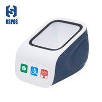 Scanners Boîte de paiement de bureau avec interface USB Lecteur de code à barres QR Code Scanner HS-P100