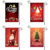Presentes Decoração Feliz Natal Bandeira Garden coloridas bandeiras da árvore da bola de Santa Claus Outdoor Ornamentos Bandeira Novo Padrão 6mx F2
