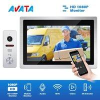 WiFi Video Intercom para casa Monitor de 10 polegadas IP Wireless Doorbell Coley com intercomuno da câmera para o apartamento residential1