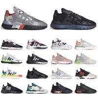 adidas boost 3m nite jogger joggers        도매 2021 Nite Jogger 남성 러닝 신발 흑인 화이트 조거 콜리게 그린 추적 핑크 여자 트레이너 스포츠 스 니 커 즈 크기 36-45