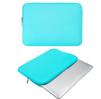 Frete grátis 11 12.5 13 14 15.6 16 polegadas capa de laptop para macbook Air Pro Ultrabook Notebook tablet saco zipper macio
