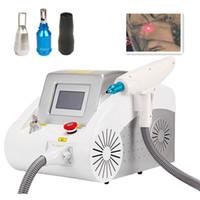 Profesjonalnie maszyna do usuwania tatuażu q przełączona nd yag laser 532nm1064nm1320nmnm brwi pigmentowy usuwanie zmarszczek laserowy sprzęt kosmetyczny UPS