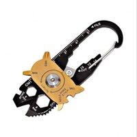 FIXR 야외 스포츠 1 다기능 렌치 드라이버 오프너 EDC 생존 키 체인 도구의 포켓 (20) 휴대용 유틸리티