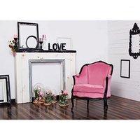 الوردي الزهور غرفة المعيشة أريكة التصوير خلفية خلفيات مخصصة لعشاق عيد الحب الزفاف photophone صور studio1