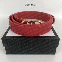 Cinturones de diseñadores para mujeres Cinturones de lujo Cinturón de cintura Cinturones Cinturones para mujer Cintura Cintura Femmes Gürtel Moda Cinturón de cuero Ancho 3.0cm