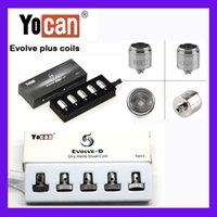 100 % Original Yocan Evolve Plus 코일 Evolve-D 코일 Evolve QDC 코일 쿼츠 듀얼 코일 E 담배 YoCAN 코일 Authentic Verify DHL Free