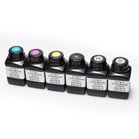 500ml 1 병 흰색 CMYK 컬러 UV 잉크 1390 L800 1400 1410 R280 R290 R330 L1800 L805 A4 A3 SGS RoHS1 리필 키트