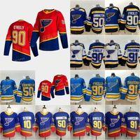 2021 Retro retro 47 Torey Krug St. Louis Blues Hockey Jersey 91 Vladimir Tarasenko 90 Ryan O'Reilly 50 Binnington Parayko Schwartz Perron