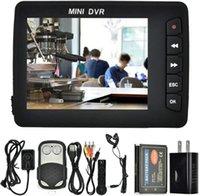 """Gravador de vídeo portátil, Mini Car DVR Anjo Eye Mini DVR 2,5"""" TFT de alta definição Pinhole botão Camera w / motion Cam dectector"""