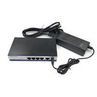 مفاتيح الشبكة 5-10 / 100 ميغابت في الثانية RJ45 التبديل PoE 802.3AF 4 Port Voteding 15.5 W Voor IP كاميرا NVR Telefoon WiFi Point