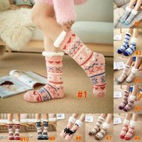 Warming Stocking Fashion Winter Cute Carpet Wool Thicken The...