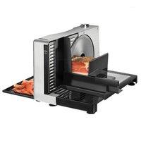 110V / 220V Electric Home Verwendung Slicer Fruchtlammscheibe in Stücke geschnittenes Fleisch Einstellbare Dicke
