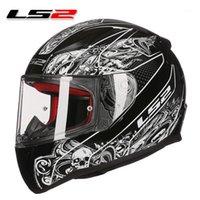 LS2 FF353 Casco de motocicleta de cara completa Motocicleta Rápido Touring Motorbike Helmets Hombre Mujer Moto Racing ECE aprobado Helmets1