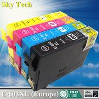 Cartucho de tinta compatível para 603 T603 T603xl, para XP-2100 XP-2105 XP-3100 XP-3105 XP-4100 XP-4105 WF-2810 WF-2830 WF-2850
