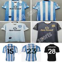 2020 Racing Club de Avellaneda Home Soccer Technys 20 21 Away Bou Fernandez Centurion Футбольная футболка Лисандро 3-й футбол