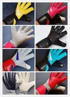 Вратарь перчатки Новый Vg3 Packer Комфорт Футбол Вратарь перчатки Training Match Anti-Slip Амортизатор
