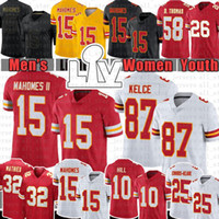 Mens 15 Patrick Mahomes 87 Travis Kelce 32 Tyrann Mathieu 10 Tyreek Hill 17 Mecole Hardman 26 Damien Williams Football jerseys