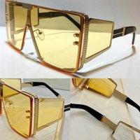 102B Yeni Moda Güneş Gözlüğü UV Koruma Ile Erkekler ve Kadınlar Için Vintage Kare Çerçeve Popüler En Kaliteli Case BPS102B Güneş Gözlüğü Ile Gel