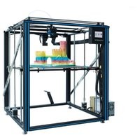 Принтеры TRONXY X5SA Обновленный алюминиевый 3D-принтер 500 * 500 * 600 мм Размер печати с экструдером Ультра Тихий режим OSG Двойная ось.