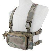 Giacche da caccia Gilet dell'esercito tattico 5.56 7.62 Borsa di stoccaggio del sacchetto della rivista del fucile per il gioco di guerra di paintball esterno della cs