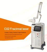 Yüksek kaliteli pigment temizleme CO2 fraksiyonel lazer akne temizleme cilt yenileme ekipmanları