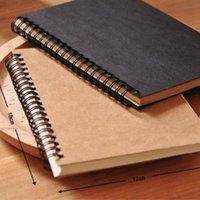 المفكرة الرجعية دوامة لفائف كراسة كرافت ورقة دفتر رسم الرسم اللوحة يوميات مجلة طالب ملاحظة مذكرة كتاب مذكرة