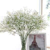 Colorfull morbido silicone tocco reale Fiori Gypsophila artificiale per domestica Wedding del partito Festive Decoration HHAA429