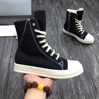 Горячий Продажа-стили Дизайнер обуви на высоком каблуке Sneaker толстого дна сапог женщины людей способ вскользь ботинки высоких верхнего качества Толстого дно Ларг