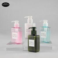 50 teile / los 150 ml Quadratische Lotion Flasche Wäsche Flüssig Körper Wäsche Shampoo Hand Sanitizer Ersatz Leere Flasche Kosmetikflasche