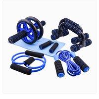 Push-Up Braketi Ev Çok fonksiyonlu Fitness Ekipmanları Karın Tekerlek 7-Parçalı Suit Kapalı Spor Ürünleri
