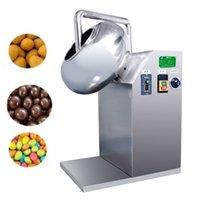 Schokoladenbeschichtung Pan Zucker polierender Süßigkeiten-Snack-Herstellungsmaschinen für Nüsse Erdnüsse Candy Tablet-Beschichtungsmaschine