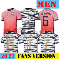 2020 2021 Jerseys de fútbol sur Corea Son Kwon Lee Kim Ho Son Hyung Kim Home 2021 21 Maillot de Foot Football Shirts