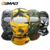 육군 전술 Balaclava 전체 얼굴 마스크 안티 UV 멀티 카 카 모 사이클링 낚시 페인트 볼 하이킹 헬멧 모자 men1